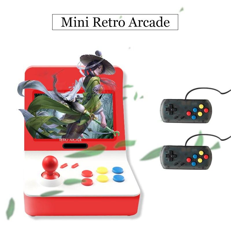Portable Rétro Mini-Jeu Portable Console 4.3 pouce 64bit 3000 Vidéo Jeux classique Famille Jeu Console Cadeau RÉTRO ARCADE