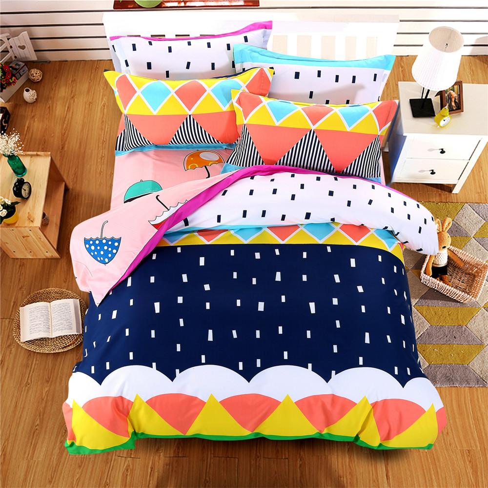 online buy wholesale bright colored bedding from china bright  - bright colorful bedding bed sets queen kigng twin for kids  pcs briefgeometric