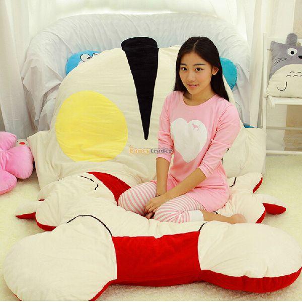 Fancytrader 2015 Cute High Quality Ultraman Bed 250cm X 170cm Huge Giant Ultraman Tatami Bed Carpet Sofa, Free Shipping FT90363