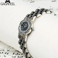 GAGAFEEL 925 Sterling Silver Watches Women S Ladies Quartz Bracelet Watch Fashion Silver Clock Relojes Mujer