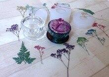 Moule en résine époxy pour fabrication de bijoux, outils dartisanat, moules en résine pour bijoux, ensemble de bols à thé en Silicone transparent, bricolage pièces
