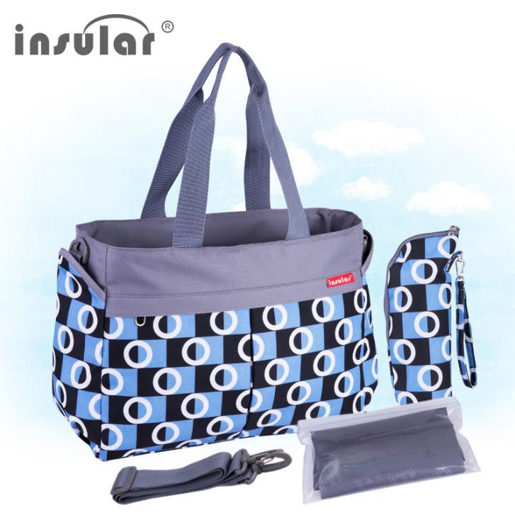 Neue Ankunft Mode Baby Wickeltasche Multifunktionswindel Taschen Wasserdichte Wickeltasche Mama Taschen