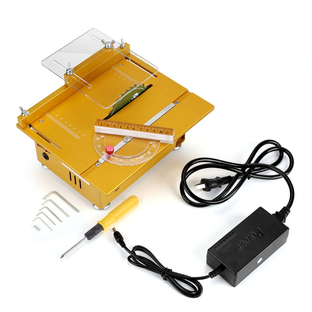 Precision Small Electric Table Saw Woodworking DIY Model Cutting Machine Electric Polisher Grinder 220V cutting machine desktop mini micro precision small table saw diy woodworking saws small cutting machine
