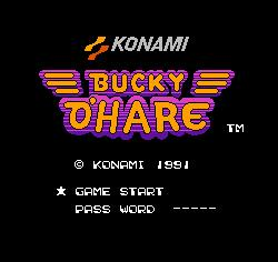 Bucky O'Hare para 72 Pins 8 Bit Game Player