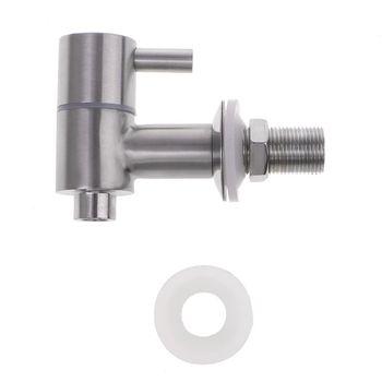 """16mm/0.63"""" Beer Tap Stainless Steel Polised Barrel Faucet For Keg Tap Tower Beer Shank Kegerator"""