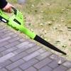 DEKO DKBL05 Cordless Electric leaf Blower Cordless String Blower Electric Air Blower Cordless Sweeper Garden Tools with 18V 1500 4