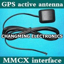GPS Антенна MMCX интерфейс два этапа усиления 28db супер сигнала активная антенна с магнитами(working100%) 1 шт