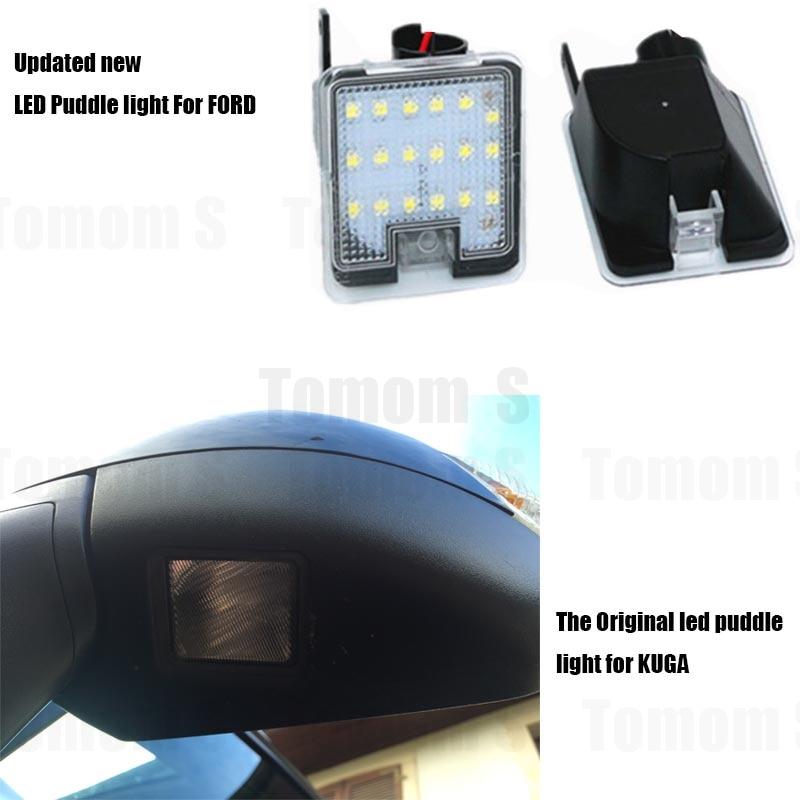 Hopstyling2x untuk Ford LED Sisi di bawah Cermin Cahaya Genangan - Lampu mobil - Foto 4