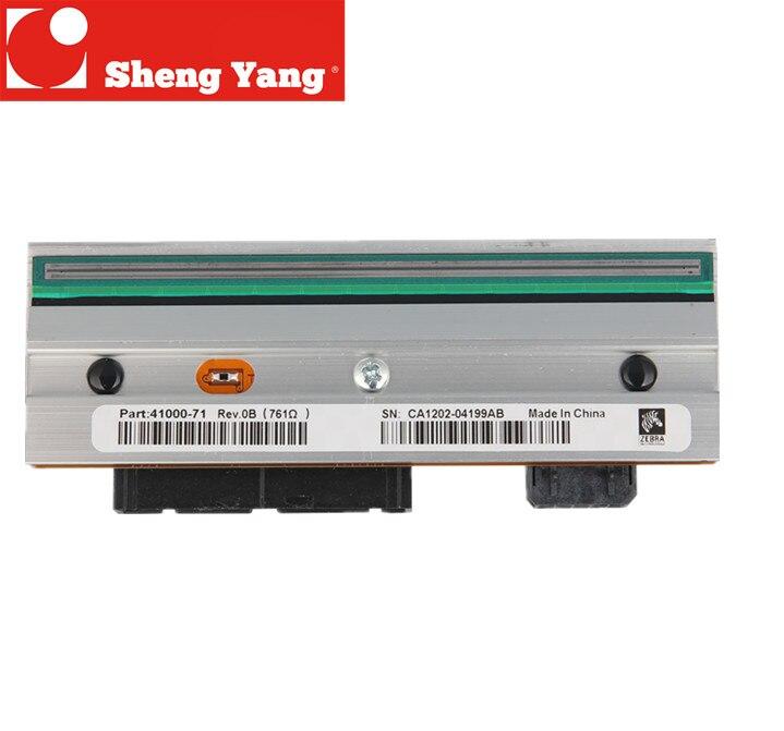Para zebra 105SL 200 dpi impressora de código de barras impressão de transferência da cabeça cabeça G32432-1M 203 dpi resolução