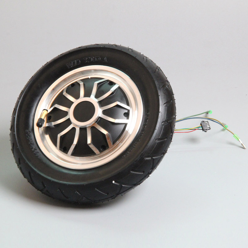 36V 350W Hub Motor Wheel with Tire for 10 Smart Self Balancing Electric Scooter Hoverboard Replacement 6 5 adult electric scooter hoverboard skateboard overboard smart balance skateboard balance board giroskuter or oxboard