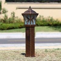 Outdoor creative Lawn Lamp waterproof column courtyard lights corridor fence villa garden pathway lighting