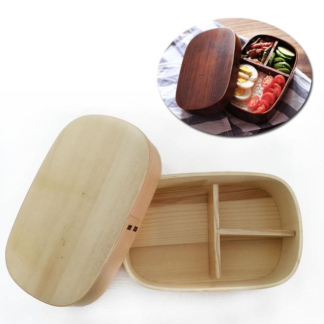 Creative Handmade Eco-Friendly Bamboo Lunch Box