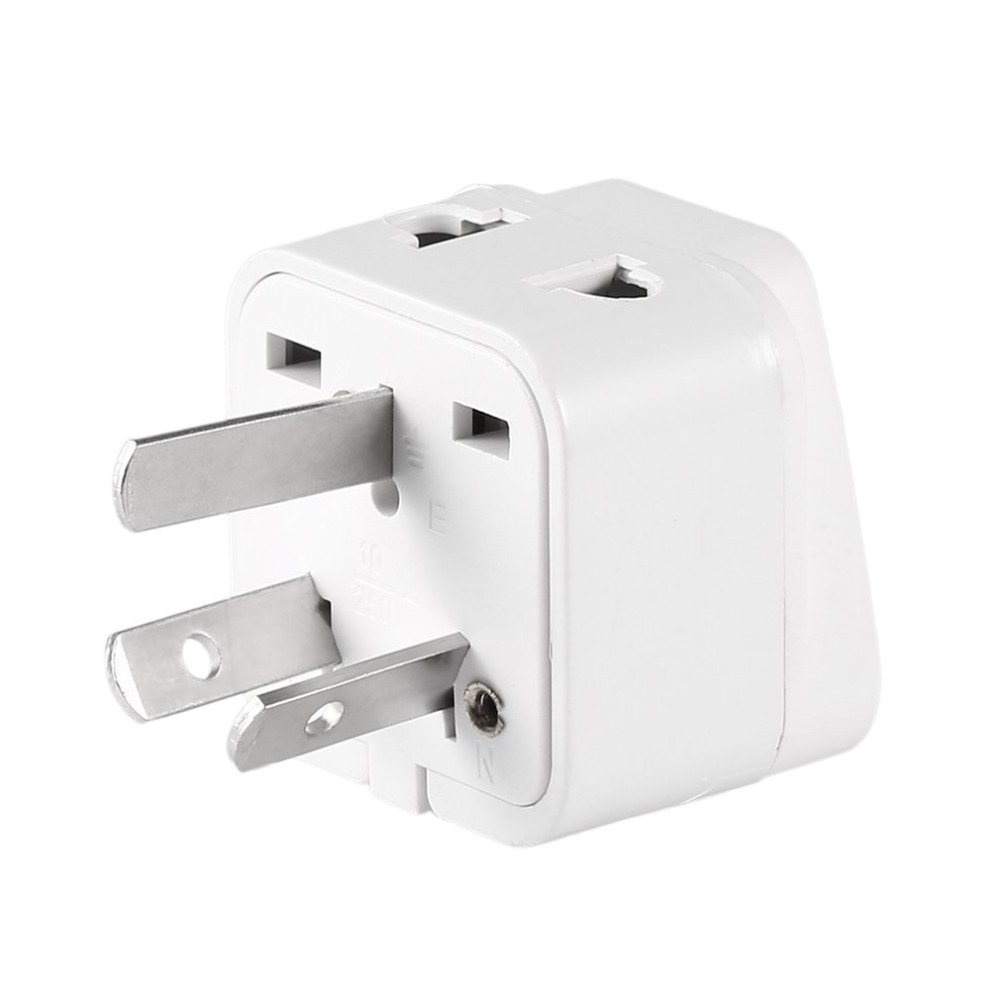 Mini Portale Australian/China typ Reise <font><b>Adapter</b></font> <font><b>2</b></font> Weg Outlet Power Stecker Ändern UNS/EU/UK/ schweizer/Italien/Japan zu AU 3 <font><b>Pin</b></font> image
