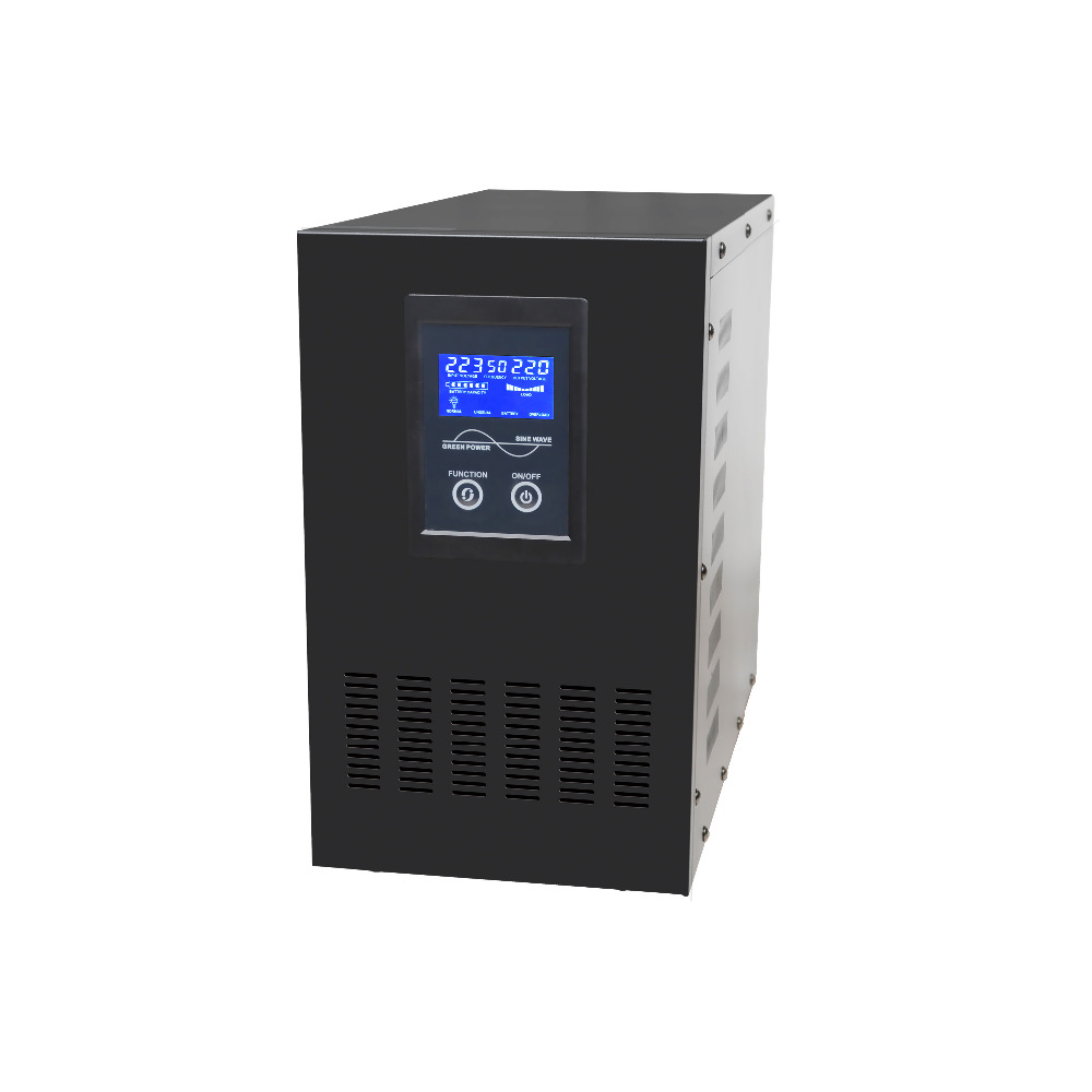 interactive online UPS 500VA/350W Pure sine Wave 12V/24VDC to 220V/110VAC 50/60HZ Low Frequency Small solar system Inverter