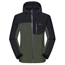 Для мужчин зимой толстые куртки Softshell мужской спорта на открытом воздухе пальто ветрозащитный Теплый для походов, альпинизма, туризма лыжный брендовая одежда VA014
