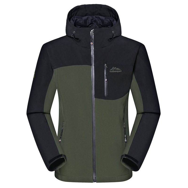 Для мужчин зимой толстые softshell Куртки мужской спорта на открытом воздухе Пальто для будущих мам ветрозащитный Теплый Отдых на природе Треккинг Пеший Туризм Лыжный брендовая одежда va014