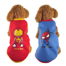 Superheroes Dog Clothes