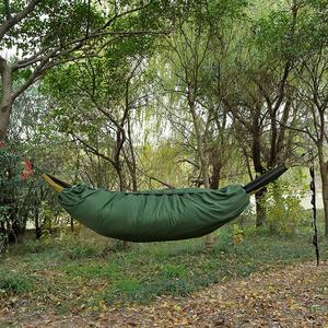 Image 5 - Multifunktions Camping Hängematte Schlafsack Underquilt Leichte Camping Quilt Packable Volle Länge Unter Decke