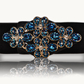 Hongmioo Women Belt Designers Brand Luxury Diamond Buckle Wide Elastic Belts For Women Fashionable Elastico Waist Belt Female