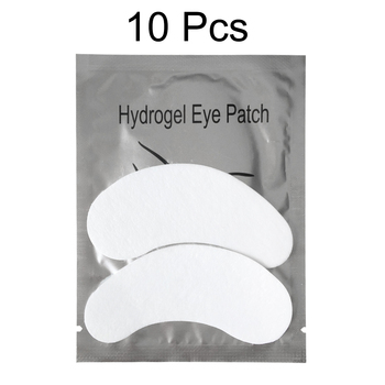 10 Pairs Eyelash Patches Under Eye Pads Lash Eyelash Extension Paper Patches Eye Tips Sticker Wraps Beauty Make Up Tools