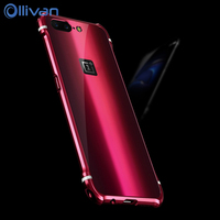 Oneplus 5 Case Cover Luxury Metal Aluminum Hybrid Back Cover Frame Case For OnePlus 5 One