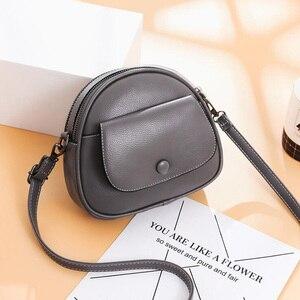 Image 2 - REPRCLA Fashion Designer Women Shoulder Bag PU Leather Crossbody Messenger Bags Ladies Handbag Bolsa Feminina