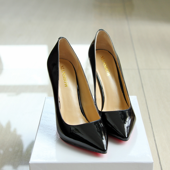 Special Hot! ! High-quality women shoes high heels pointed women pumps fashion four seasons shoes