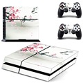 Mood of a painting PS4 Skin PS4 Sticker Vinly Skin Sticker for Sony PS4 PlayStation 4 and 2 controller skins PS4 Stickers