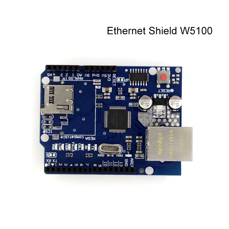 UNO Shield Ethernet Shield W5100 R3 UNO Mega 2560 1280 328 UNR R3 only W5100 Development