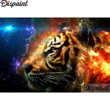 Dispaint Full Square/Round Drill 5D DIY Diamond Painting Animal tiger scenery3D Embroidery Cross Stitch Home Decor Gift A12699 dispaint full square round drill 5d diy diamond painting animal tiger sceneryembroidery cross stitch 3d home decor gift a11463
