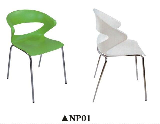 4 Sztuk Partia Nowoczesne Krzesła Plastikowe Krzesła