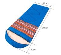 1,35 кг в этническом стиле плюс бархат спальный мешок для взрослых Крытый расширены толстые можно сшить двойной Зимний Открытый