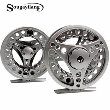 Sougayilang 3BB Fly Fishing Reels Aluminium Alloy 5/6WT Fly Reel Gear Machined  Micro Adjusting Drag Fly Fishing Reel De Pesca