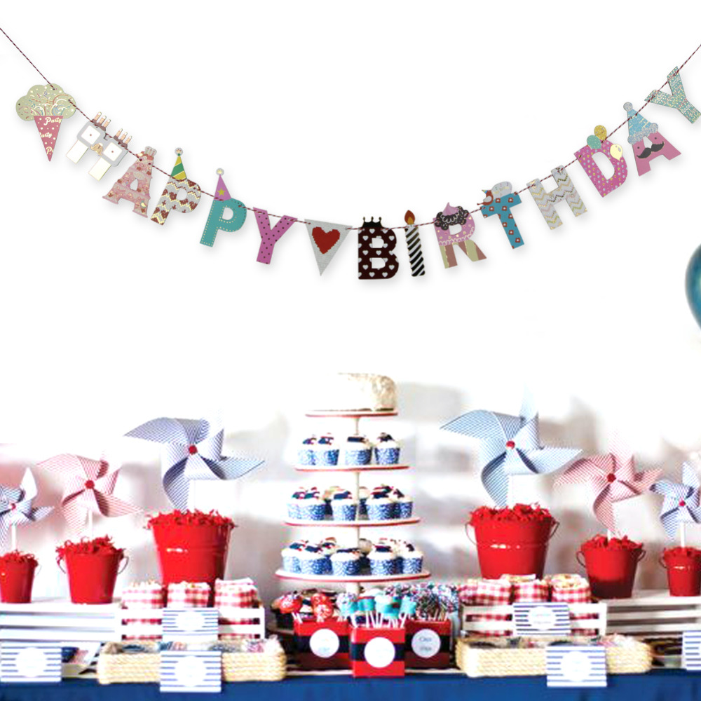 You Can Hang From A Wall Or Drape It Over Window Use Multiple Banners To Create Gorgeous Backdrop Hy Birthday Banner