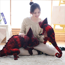 Creative Simulation Chameleon Lizard Plush Toys Stuffed Animal Doll Toy Children Gifts & Boys Girls Gift