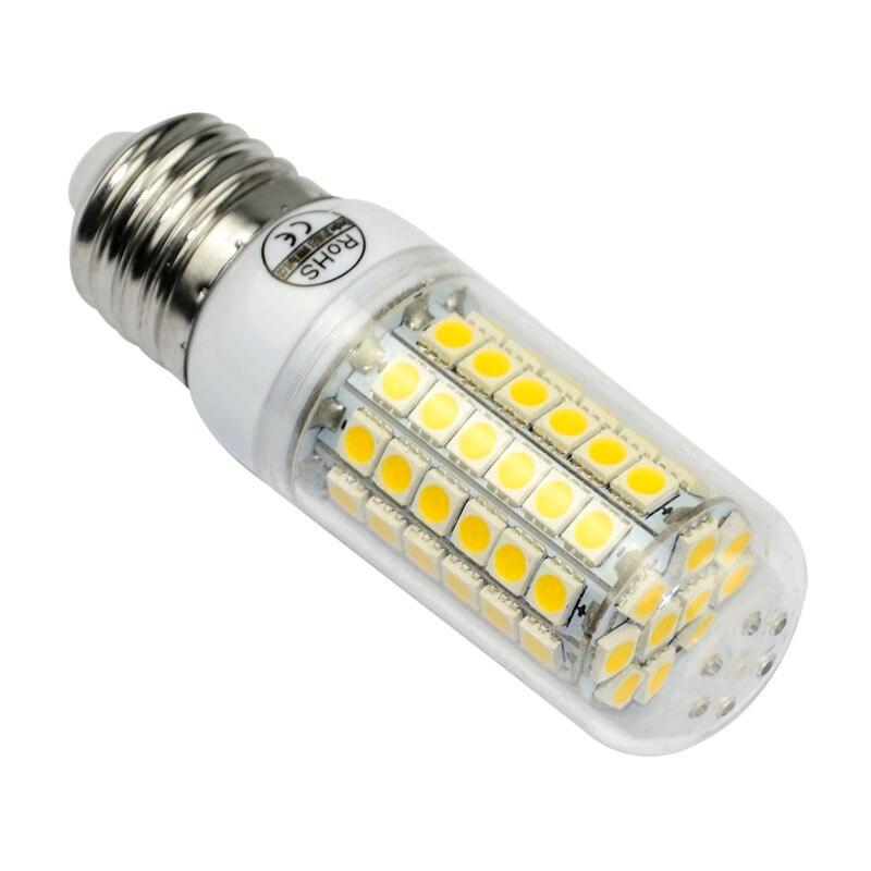 Ultra bright SMD5050 70LEDs 12W E27 led bulb lamp 220V bombillas led light lamparas Warm white
