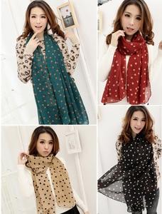 150*50cmNew Women Chiffon Silk Scarfs Fashion Spring Square polyester Scarves Print flowers Shawl Summer Shawls And Hijab