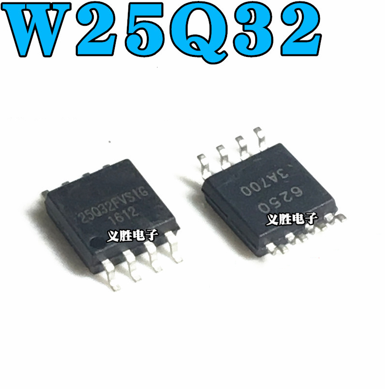 10pcs W25Q32FVSSIG SOP8 25Q32 SOP 25Q32FVSIG SMD W25Q32 New And Original Flash   Chip 4M