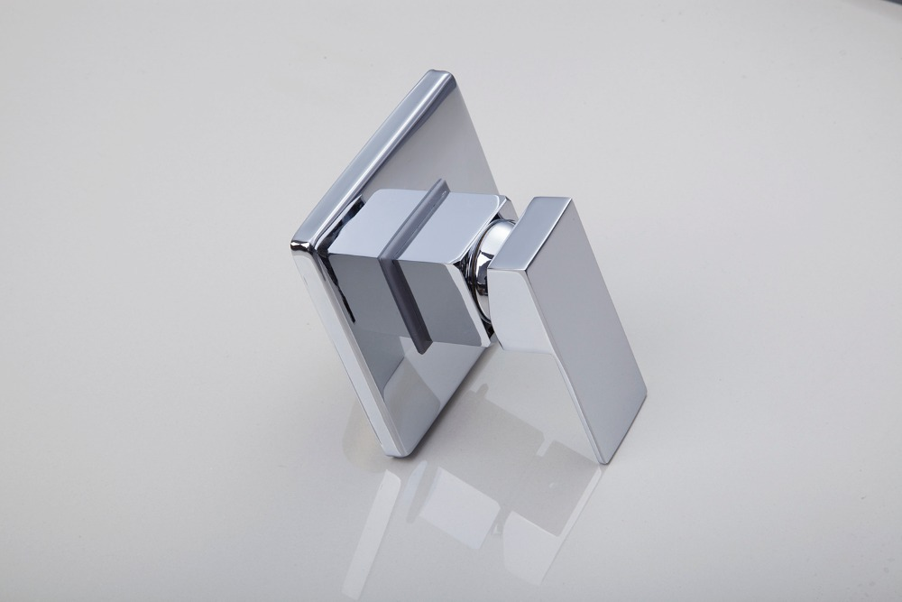 shower polished chrome bathroom accessories faucets accessories square control valvechina mainland