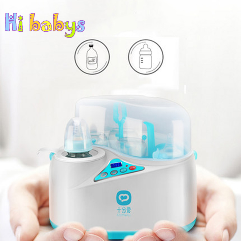 Baby Bottle Food Warmer Sterilizer Intelligent Milk Heating Insulation Milk Feeding Bottle Heater Automatic Sterilizer Device constant temperature heat insulation double milk bottle sterilizer multifunction baby bottle warmer