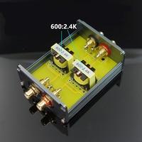 1 stück Passive preamp Audio schritt up transformator audio isolation transformator 600: 2 4 K kostenloser versand-in Operationsverstärker-Chips aus Verbraucherelektronik bei