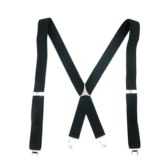 Online Shop 4 Clips Mens Suspenders Wedding Groomsmen Suspenders