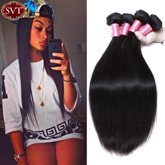 Grade 7a Svt Company Mongolian Virgin Hair Straight 3pcs Mongolian