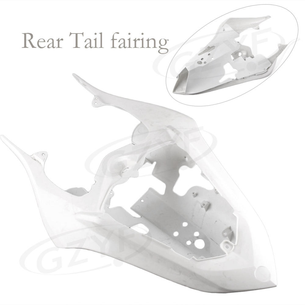 Unpainted Tail Rear Fairing Cover Bodywork for YAMAHA YZF R1 2007 2008 Injection Mold ABS Plastic