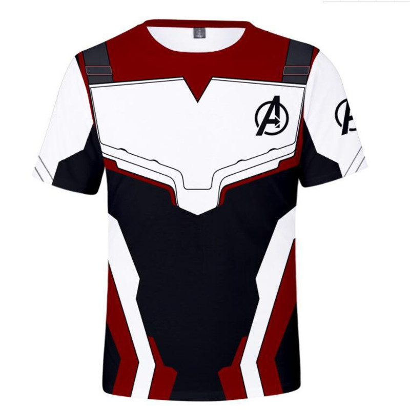 Marvel Movie Avengers Endgame Short Sleeve   T     Shirt   Quantum Warfare Men/Women 3d Print   t  -  shirt   cool Casual Summer Tops Tshirt