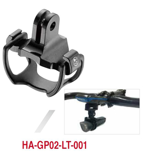 FOURIERS HA-GP02 Bike Light Mount Holder for Garmin Bryton Computer Mounnt & Gopro Adapter Cateye Alloy 6061-t6