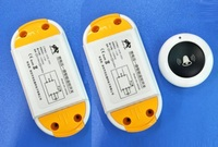 AC85 250V 110V 220V Relay 1CH Wireless Remote Control Switch 2PCS Receiver Module And RF Round
