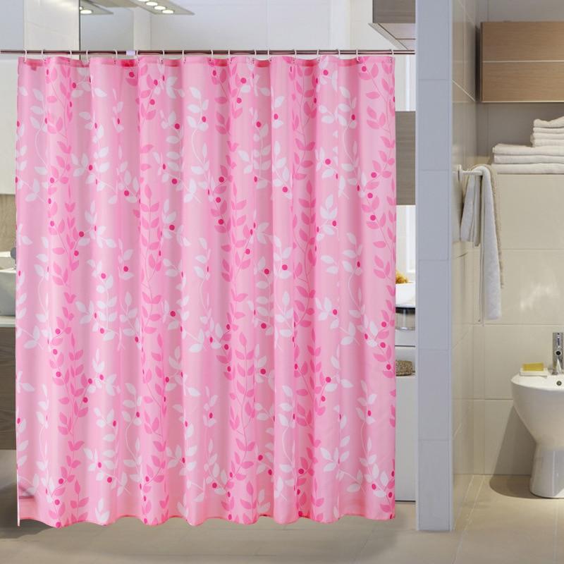 Online Get Cheap Pink Shower Curtains Aliexpress Com Alibaba Group