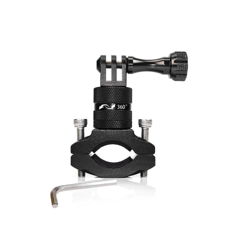 Bike Bicycle Handle bar Holder Aluminum Mount Stand for Gopro Hero 4 3+ 3 2 1 Go Pro Sport Action MINI Camera Holder Mount Hold
