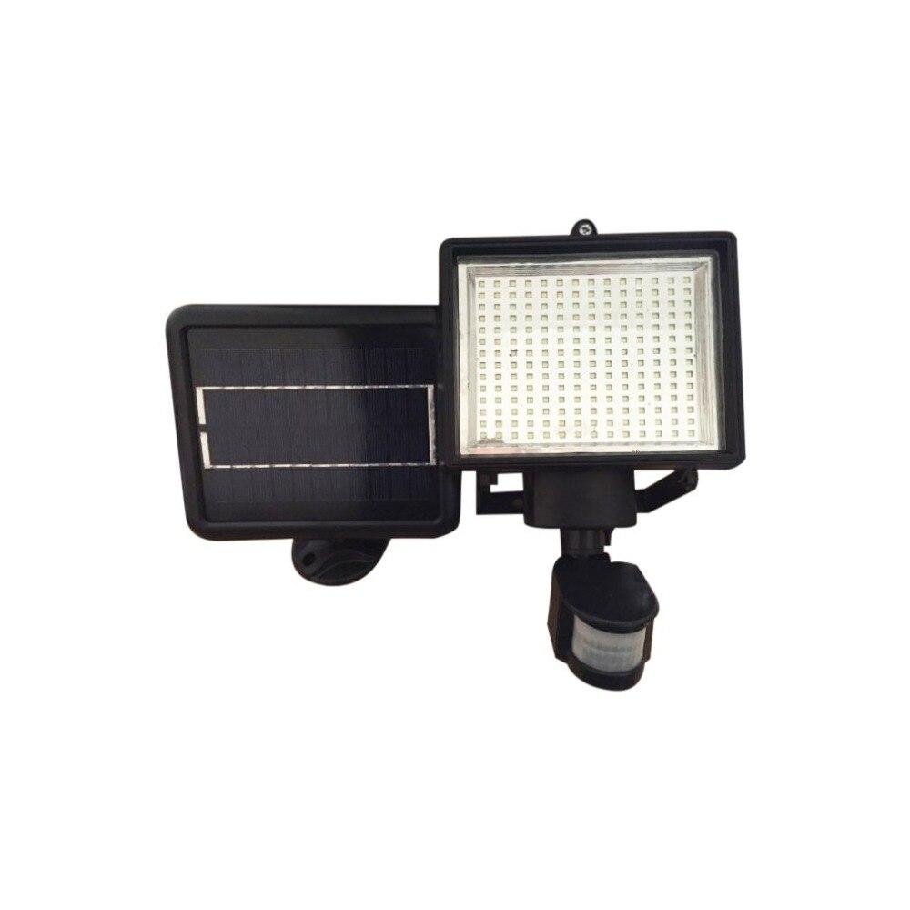 Lumière infrarouge solaire de capteur de corps de lampe d'induction de corps humain de 120LED avec la lampe d'allée
